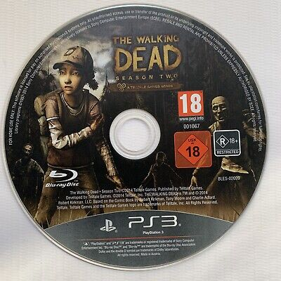 The Walking Dead Season Two 2 Telltale Series PlayStation 3 PS3 DISC ONLY
