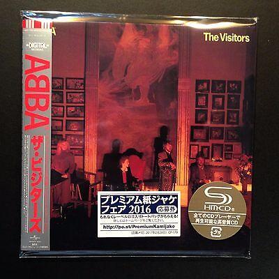 The Visitors by ABBA (SHM-CD, 2016, Cardboard Sleeve, Mini-LP, LTD, Japan)