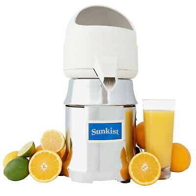 Sunkist J1 Type 8 Commercial Citrus Juicer Opened Box Unused Complete