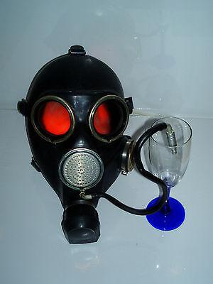 Gasmaske gas mask  Neu DDR UDSSR NVA Russland Gr 1 Small Trinkschlauch GP 7B
