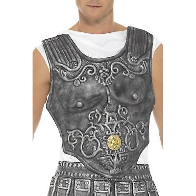 Römisch Rüstung Brustplatte Grau Eva Römische Toga Kostüm Zubehör Party ()