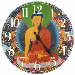 Oriental Furniture The Enlightened Buddha Wall Clock