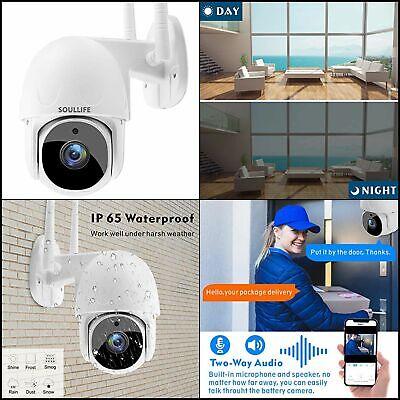 Camara De Seguridad WIFI Inalambrica HD 1080P 360 Tilt Para Exterior 2-Way Audio - $59.99