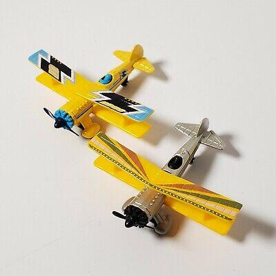 2 Matchbox Sky Busters Bi-Plane Airplanes Aircraft 2008