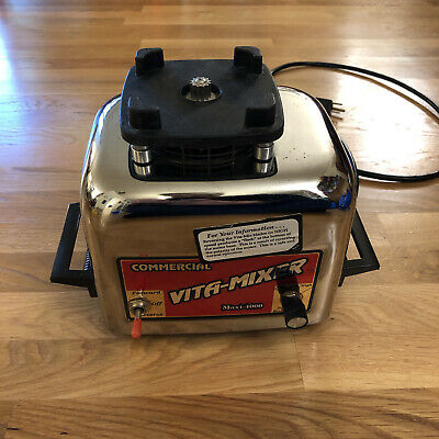 Vita-mix Commercial Vita-mixer Maxi-4000 Blender Base Motor Only 479044 Tested