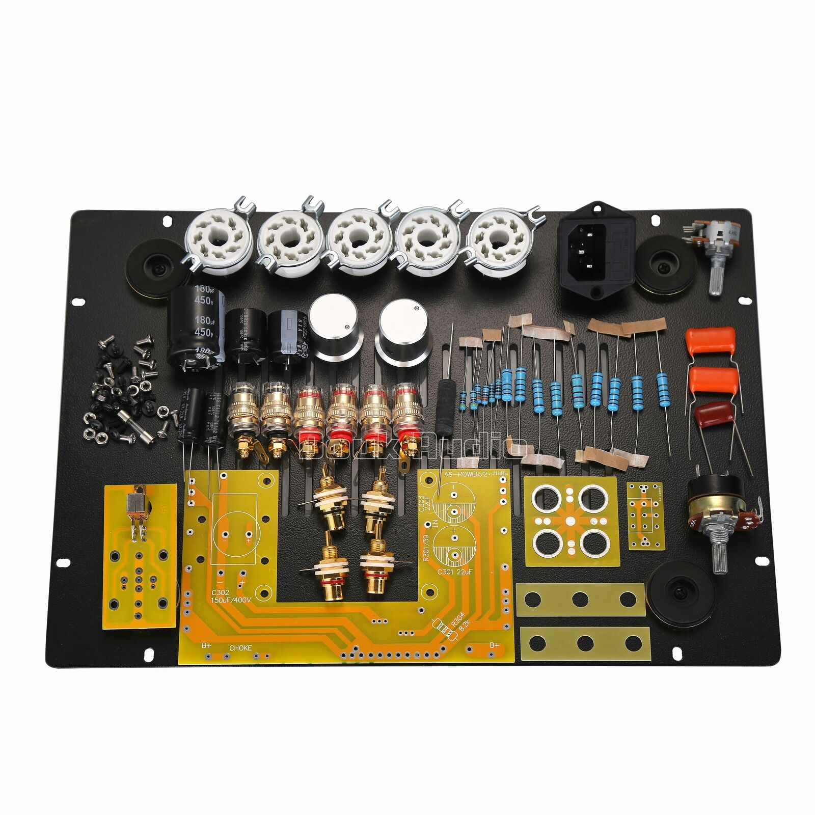 Douk audio el34 vacuum tube amplifier single ended hifi power amp 2017 douk audio el34 vacuum tube amplifier single ended power amp kit diy 12w2 solutioingenieria Images