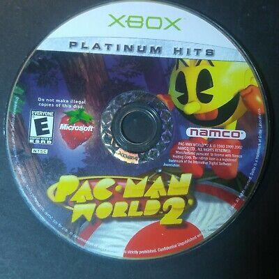 Pac-Man World 2 (Microsoft Xbox, 2002) disc only # 36121