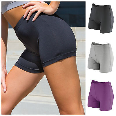Womens Booty Shorts (Womens Running Shorts Training Fitness Sports Gym Yoga Shorts Ladies Girls Booty)