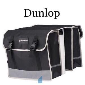 Dunlop Fahrrad Gepäckträgertasche Satteltasche Fahrradtasche Doppel Seitentasche