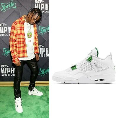 Nike Mens Air Jordan 4 IV AJ4 Metallic Pack 2020 White Pine Green CT8527-113