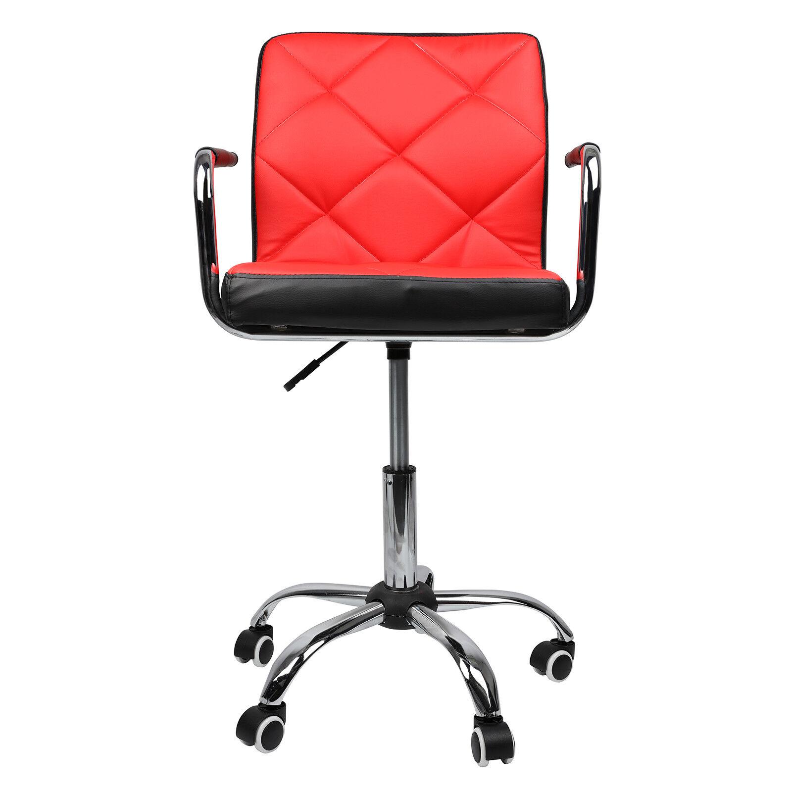 Comfort Swivel Bar Stools Chrome Home Office Computer Chair