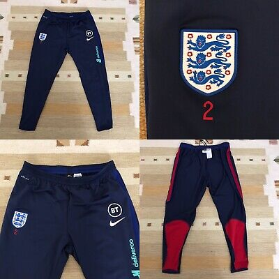 England Nike Player Issue Training Worn Strike AEROSWIFT Pant Size XL SLIM FIT