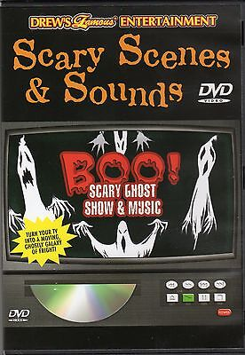 BOO! SCARY GHOST SHOW & SOUNDS VIRTUAL HALLOWEEN SCARY SIGHTS & SPOOKY SOUND F/X ()