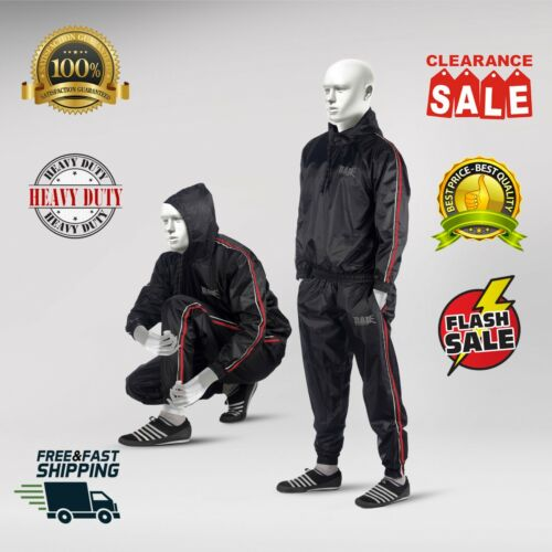RAD Sauna Suit Men and Women Weight loss, Sweat Sauna Suit Gym Boxing, With Hood