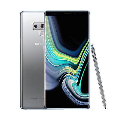 SAMSUNG Galaxy Note9 SM-N960 Unlocked Smartphone 128GB < Cloud Silver >