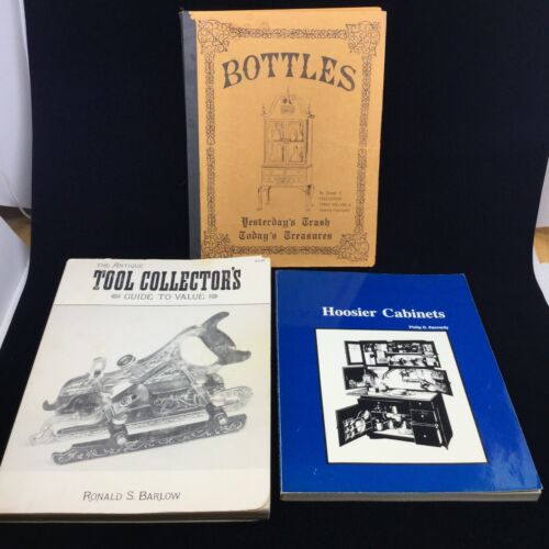 3 ANTIQUE COLLECTOR BOOKS: TOOL COLLECTOR