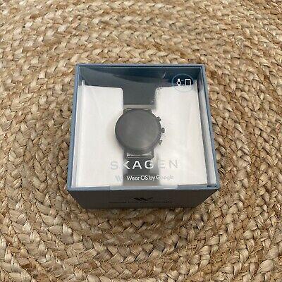 Skagen Falster 2 Smartwatch Grey Magnetic Steel Mesh