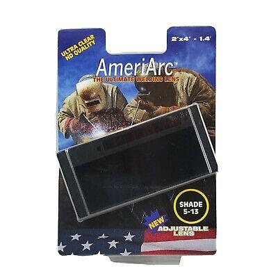 Ameriarc Auto Darkening Welding Lens 2x4 Adjustable Shade 5-13