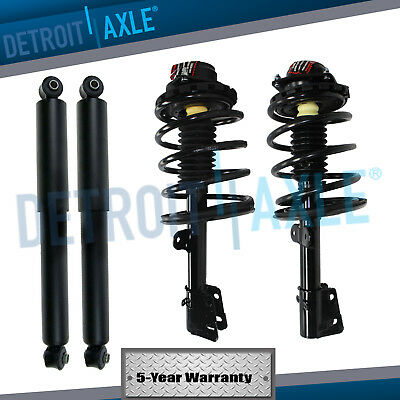 All 4 New Front  Rear Complete Strut Assembly  Shock Absorber for Caravan