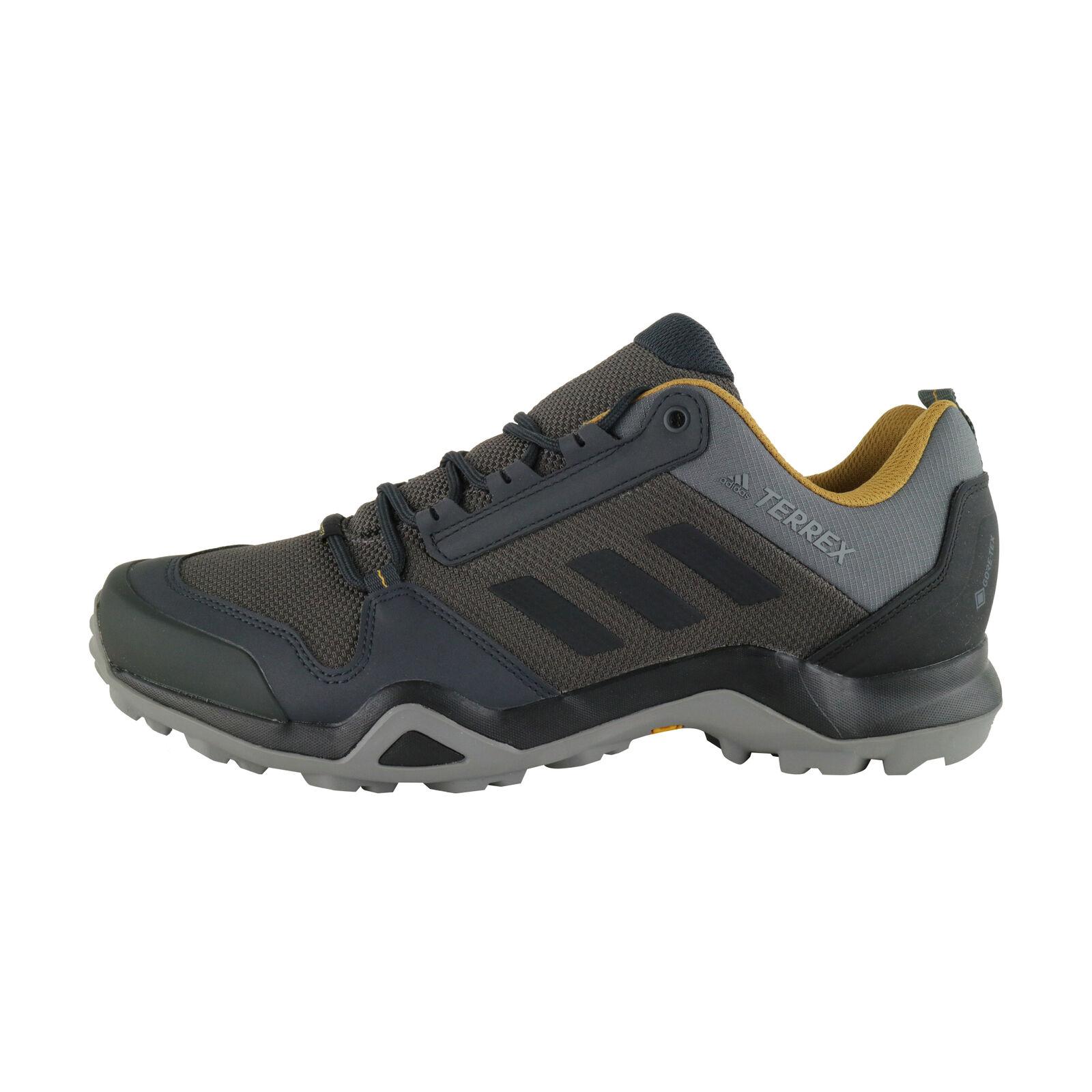 Détails sur Adidas Terrex AX3 GTX Gris Gore Tex plein Air et Chaussures de Randonnée BC0517