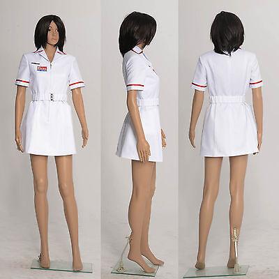 Joker Nurse White Uniform Batman Fancy Dress Costumes Coat Cosplay for - Uniform Fancy Dress For Womens