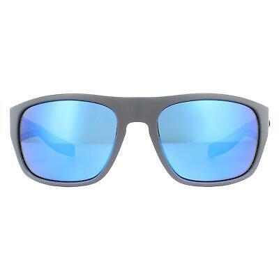 Costa Del Mar Sol Tico TCO98 Obmglp Mate Gris Azul Polarizadas Espejo...