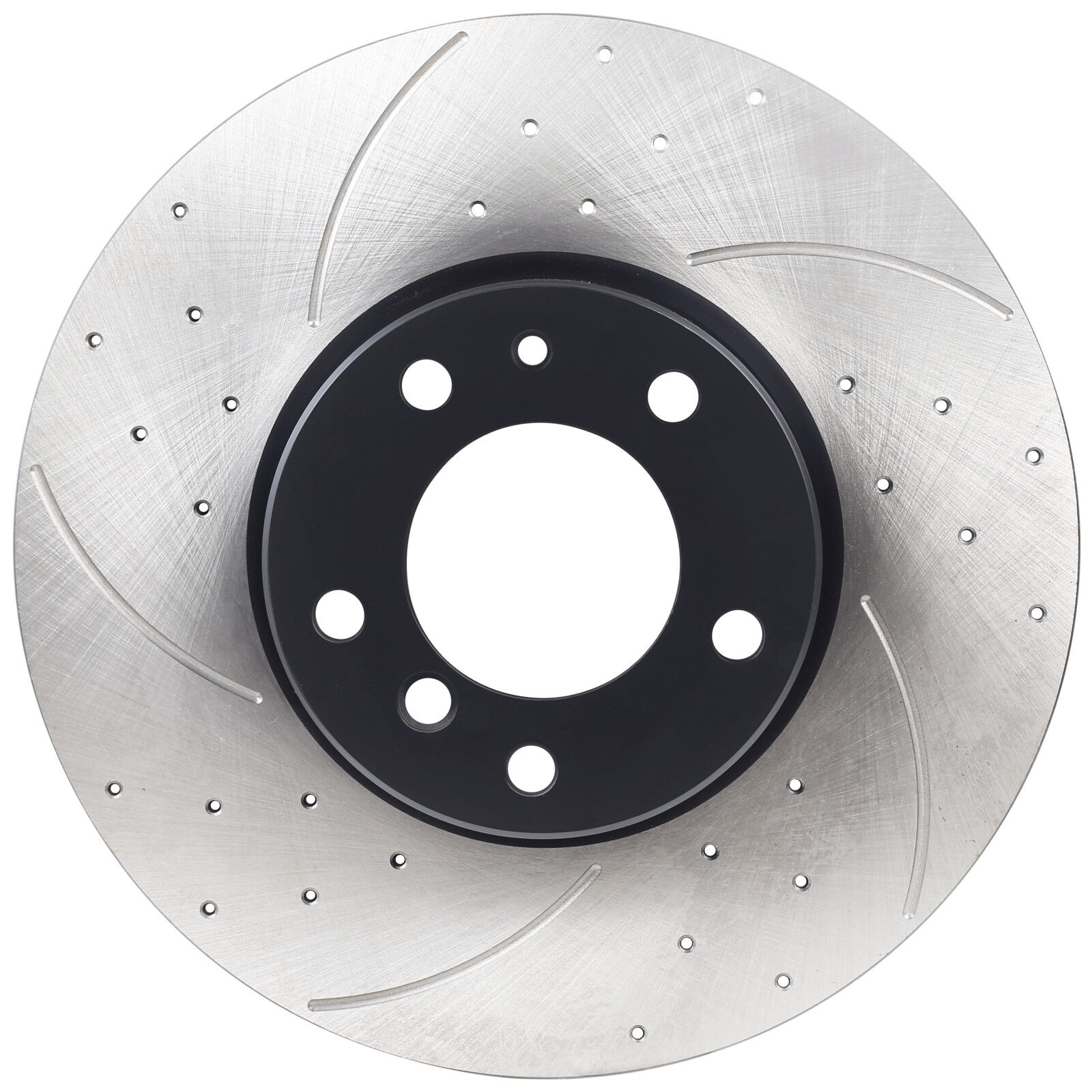 E38 728 Rear Solid Drilled Grooved Brake Discs 95-02