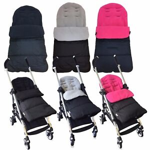 Pushchair-Stroller-Buggy-Cosytoes-Footmuff-Universal-Fitting-Luxury-Fleece-Lined