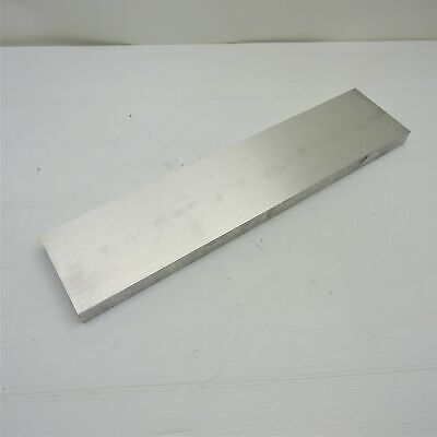 .75 Thick 34 Aluminum 6061 Plate 6 X 32.625 Long Sku 106151