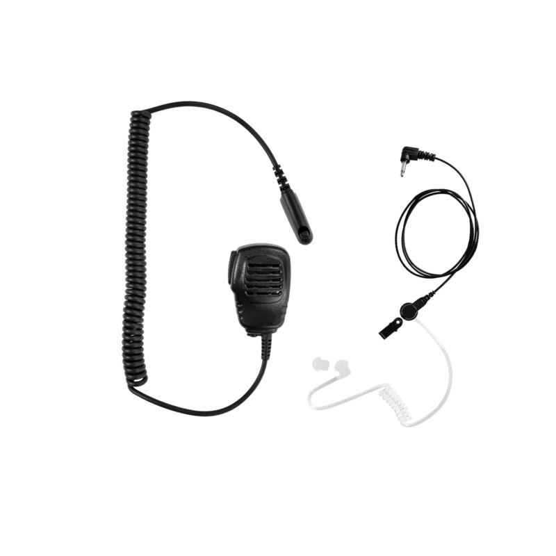 Extend Listen only Earpiece with Speaker Mic for Motorola HT750 HT1250 HT1250LS