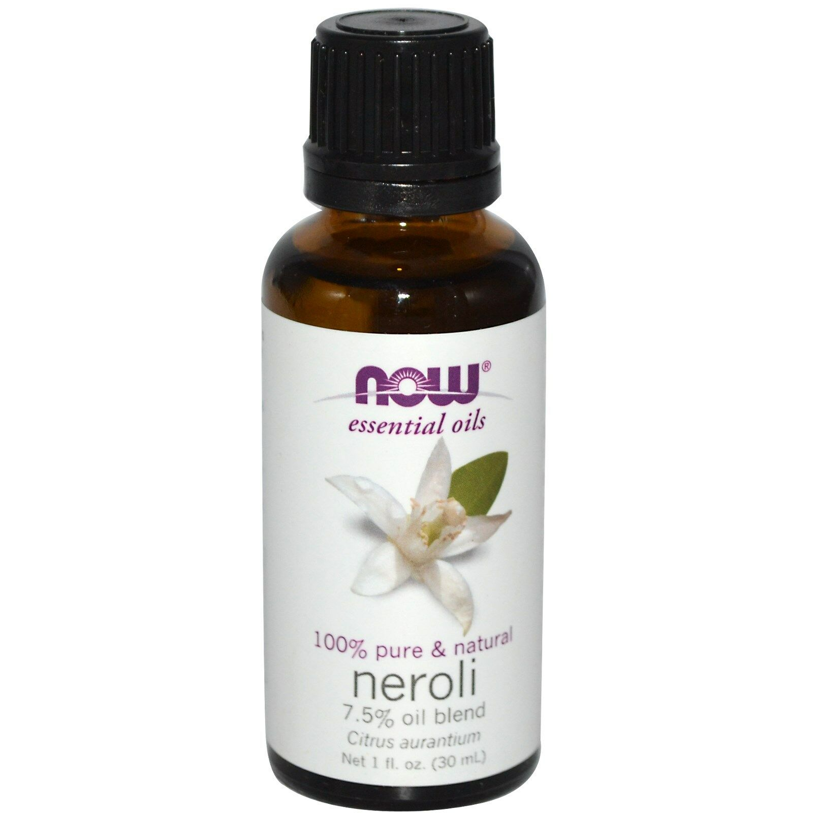 NOW Foods 1 oz Essential Oils and Blend Oils - FREE SHIPPING! Neroli 7.5% Blend