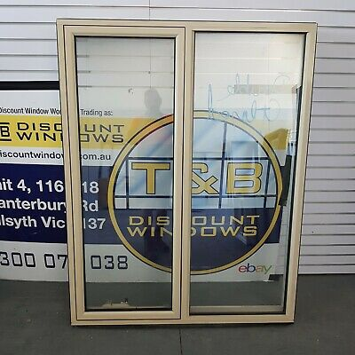 1540H x 1210W Aluminium Awning Window (4814) Paperbark