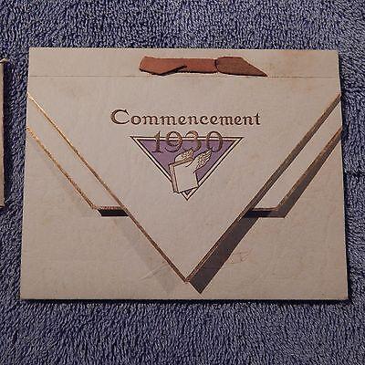 Vintage 1930 Commencement Invitation For Alton W  Dubs  Codorus Township High