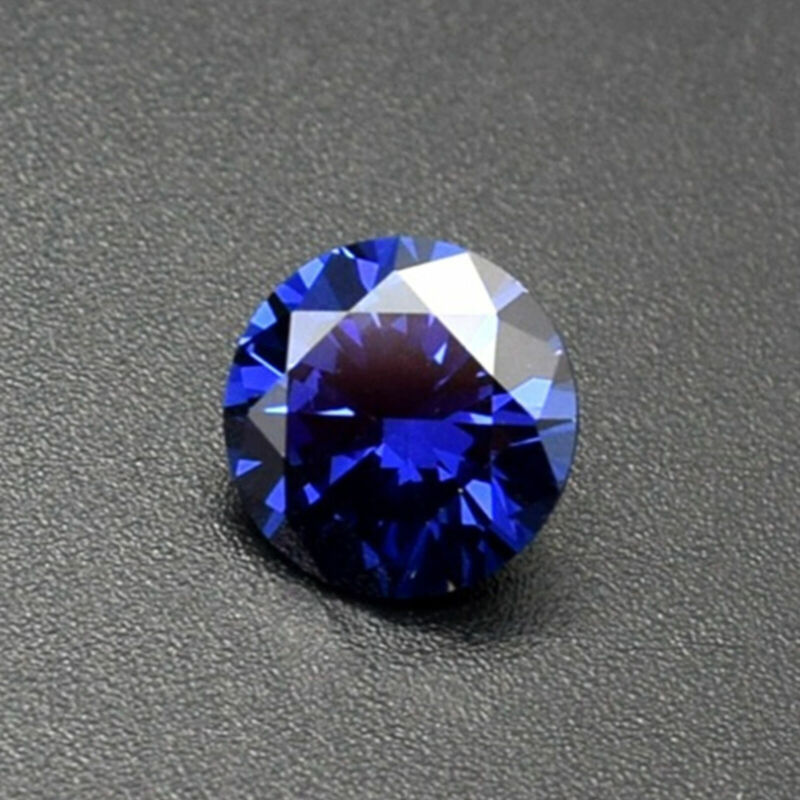 Natural Round Sapphire 1.49-26.96ct 6-16mm Faceted Cut AAAAA VVS Loose Gemstone