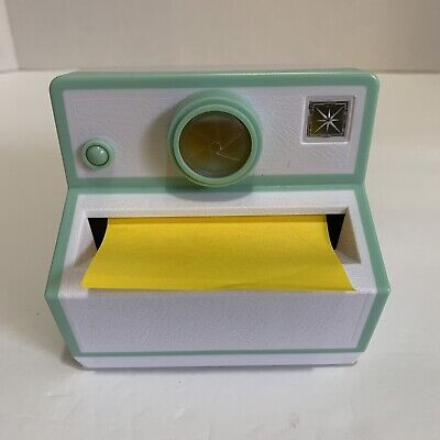 3m Post-it Pop Up Notes Retro Vintage Polaroid Style Camera Weighted Dispenser