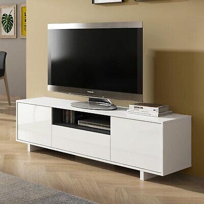 Mobile porta tv SERENA Gihome ® moderno televisione salotto soggiorno bianco