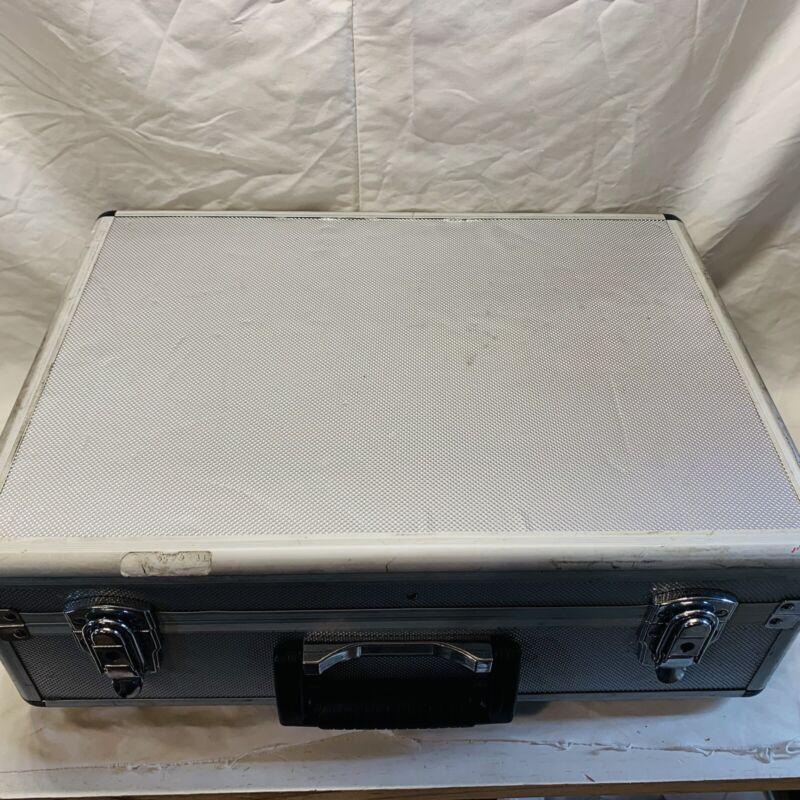 Duralumin case, Aluminum Case, Equipment Case, Suitcase, 18x13x6in