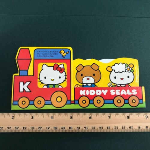 "Hello Kitty Stickers Vintage Sanrio ""Kiddy Seals"" 1976 Kawaii Collectible"