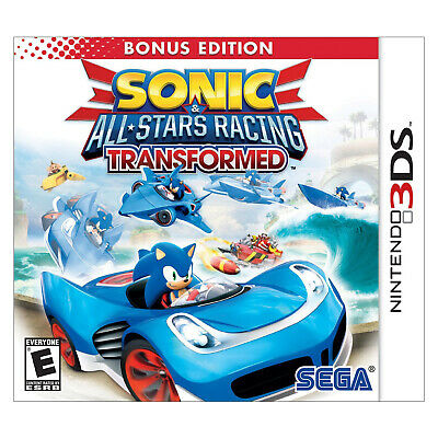 Sonic and All Stars Racing Transformed 3DS - USED -