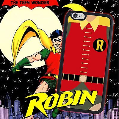 Robin Batman and Robin for iPhone 5 5s 4 4s 5c 6 6 7 Plus iPod touch Pone Case