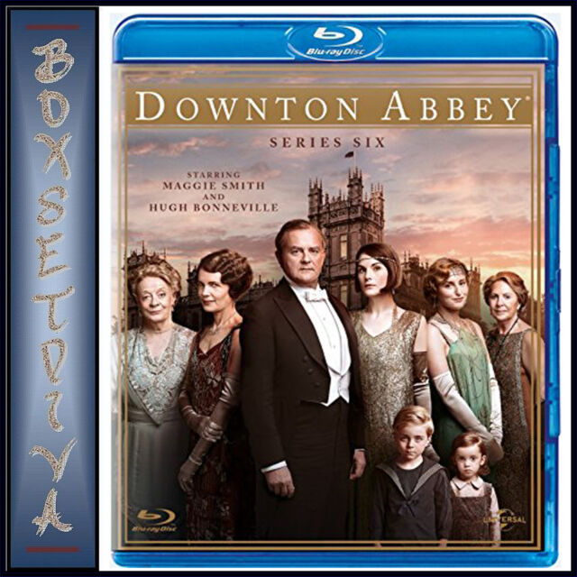 DOWNTON ABBEY - COMPLETE SERIES 6 *BRAND NEW BLU-RAY**