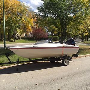 1989 125 hp force outboard boat