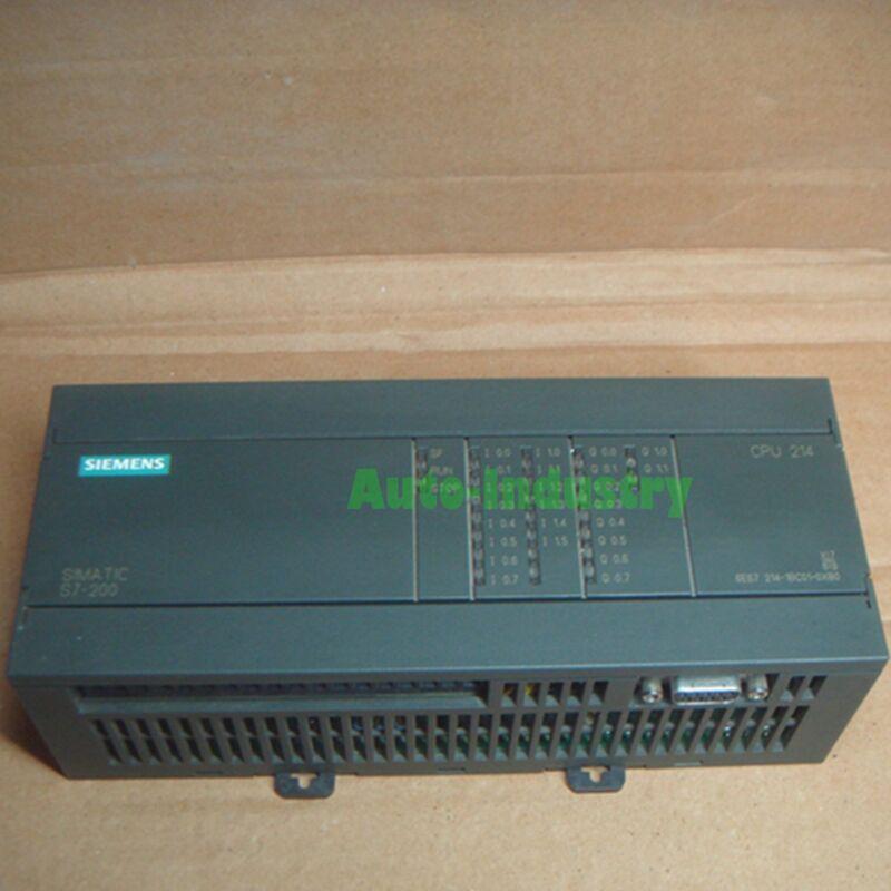 Used Siemens PLC Module 6ES7 214-1BC01-0XB0 Tested