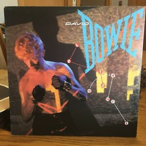 David Bowie. 3 LP records. Let's dance. Changes two. Heroes