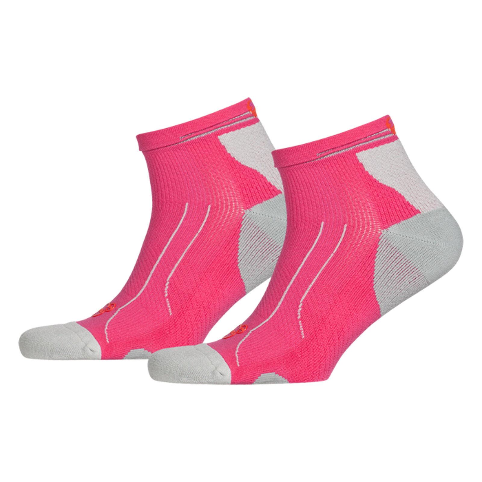 PUMA Sports Socks UK 2.5-5 Cell Light Quarter Performance Running 2 Pair Pack