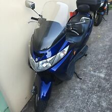 Suzuki Burgman 250 Auto long rego Haymarket Inner Sydney Preview