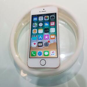 AS NEW IPHONE SE 32GB ROSE GOLD WITH WARRANTY