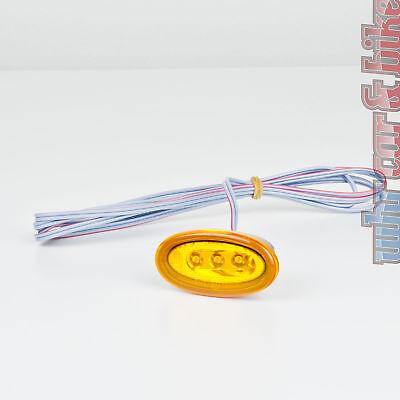 Hella LED Seitenmarkierungsleuchte SML orange gelb 2PS 008 138-001 Ersatzleuchte