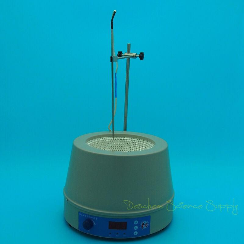 2000ml,120V,Magnetic Stirring Heating Mantle,2L,Temp Set Digtal Display US-Plug