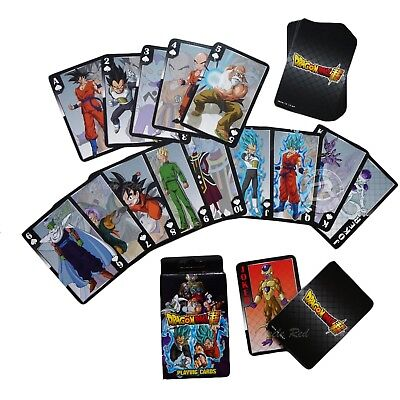 Dragon Ball Super Z Resurrection F SSG Goku Vegeta Goten Playing Cards Official